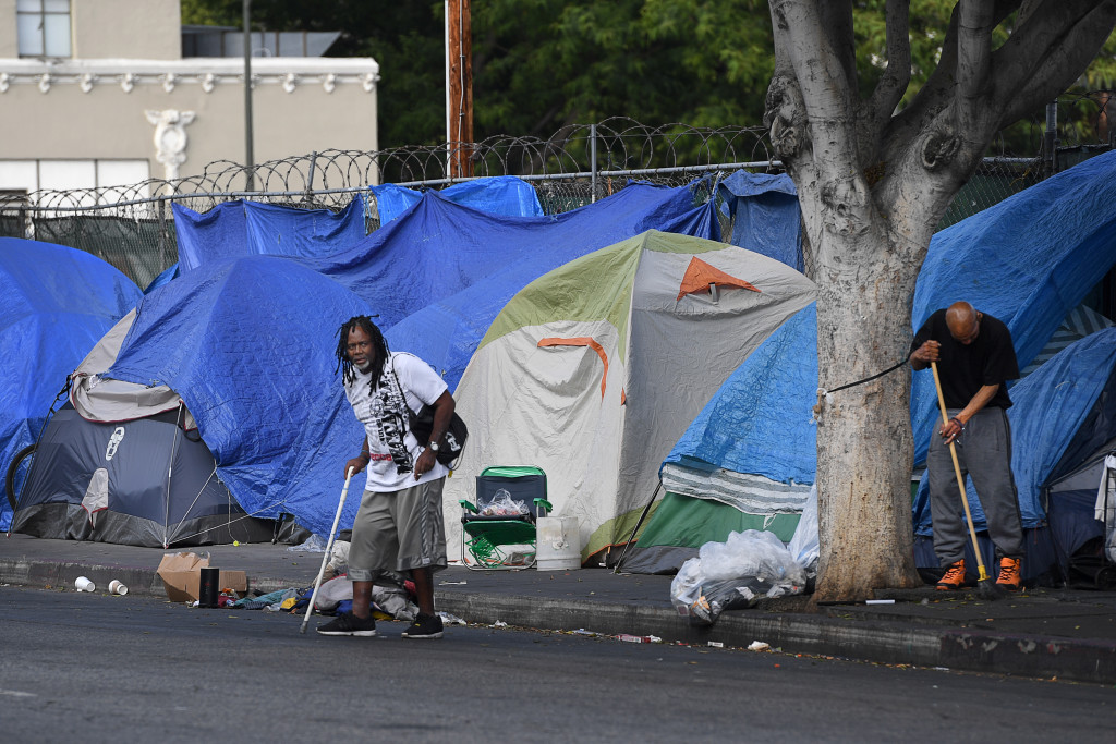 Skid Row i Los Angeles FOTO: Urban Andersson