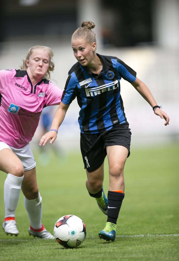 Matchvinnare. Asia Bragonzi gjorde finalens enda mål. Foto: Anders Deros