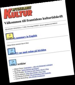 Första AB-sajten