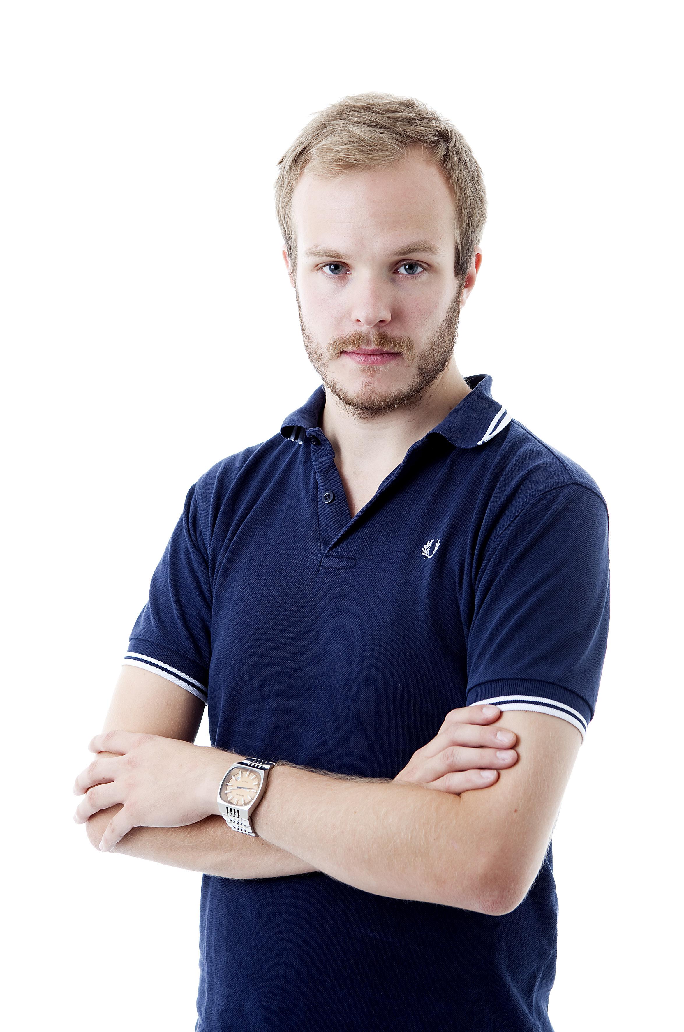 Niklas Eriksson reporter Aftonbladet. Foto: Per Groth