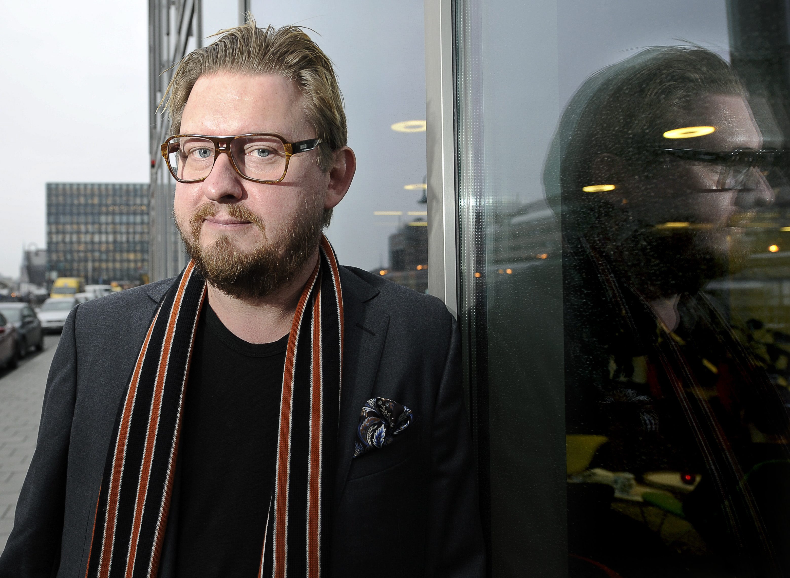 STOCKHOLM 2011102 Aftonbladsjournalisten Fredrik Virtanen fyller 40 år i november Foto: Anders Wiklund / SCANPIX / Kod 10040