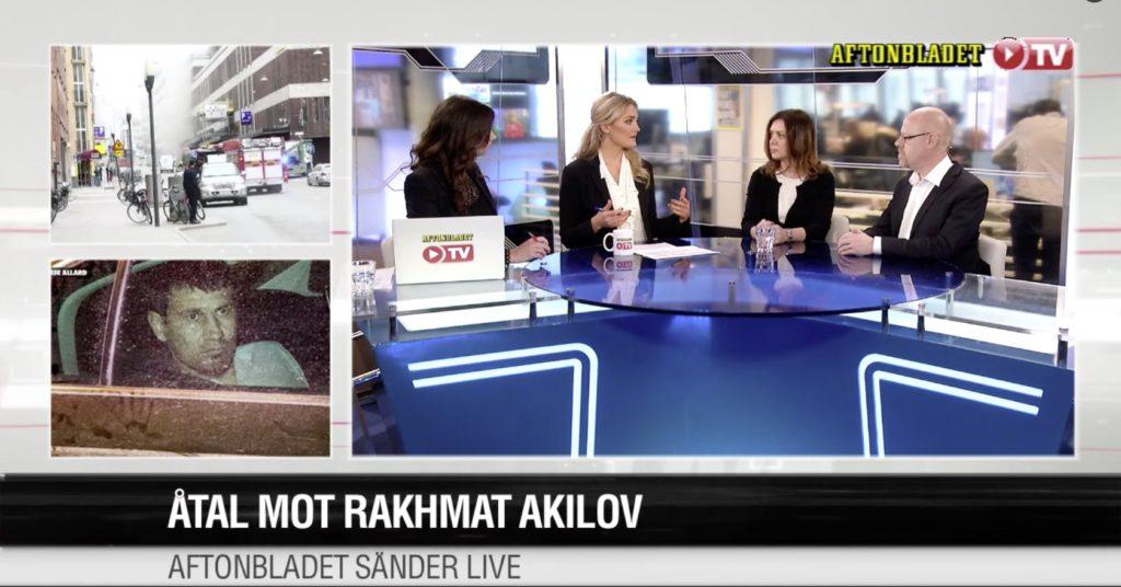 Åtalet mot Akilov