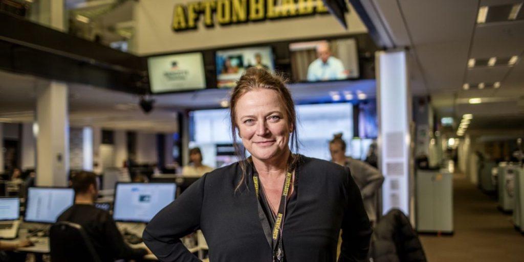 Lena K ny publisher Aftonbladet