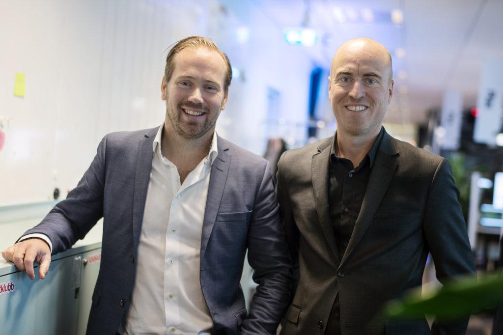 Ted Kudinoff och Peter Nelander. Foto: Naina Helén W. Jåma