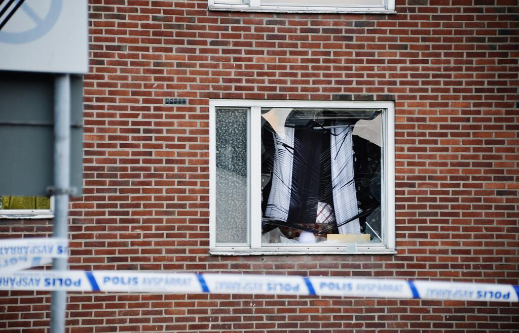 Handgranatsattacken den 22 augusti mot en lägenhet i Biskopsgården kostade 8-årige Yuusuf Varsamme livet. Foto: ROGER LUNDSTEN