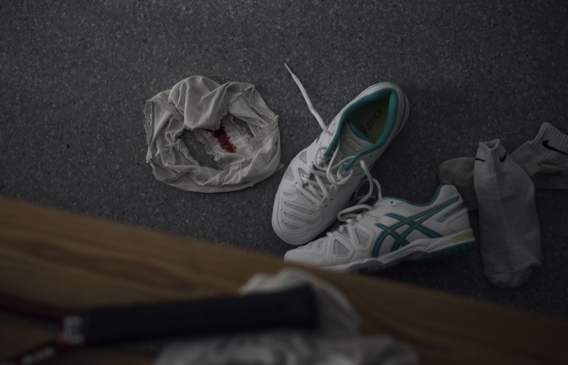 foto : anna tärnhuvud : genrebild. till mensprojektet för sporten med petra thorÈn.  lägg i bildgruppen mensprojekt.