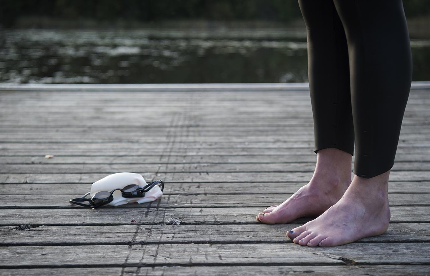 #mensendå. menstruationens påverkan på dagsformen för idrottare.  foto : anna tärnhuvud : emma graaf, triathlon i falun. till mensprojekt för sporten med petra thoren. till bildgruppen mensprojekt.