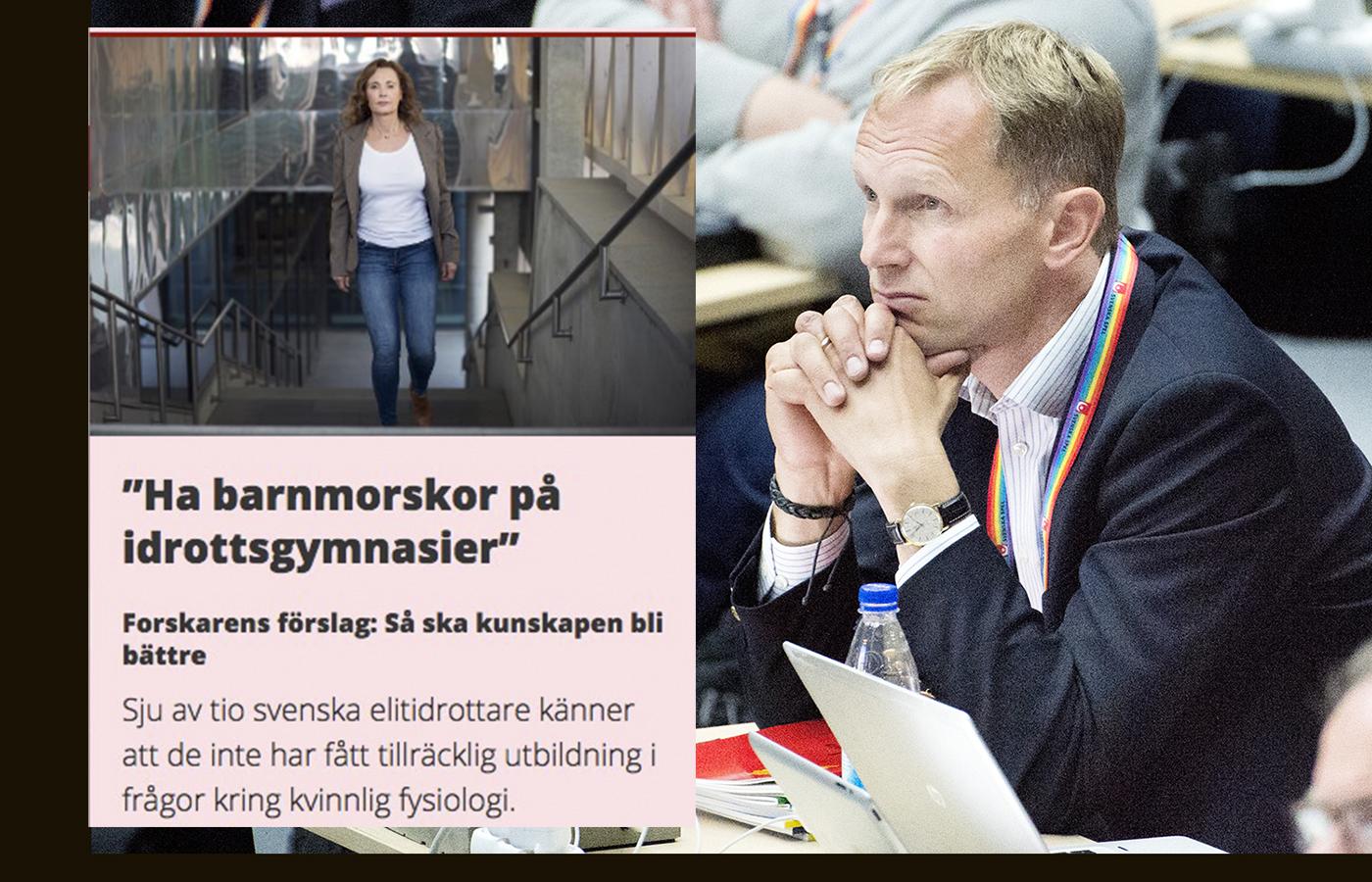 150529 Riksidrottsförbundets chef för Idrottsavdelning Peter Mattsson under dag 1 av Riksidrottsmötet den 29 maj 2015 i Helsingborg.  Foto: LUDVIG THUNMAN / BILDBYRÅN / kod LT / 35083