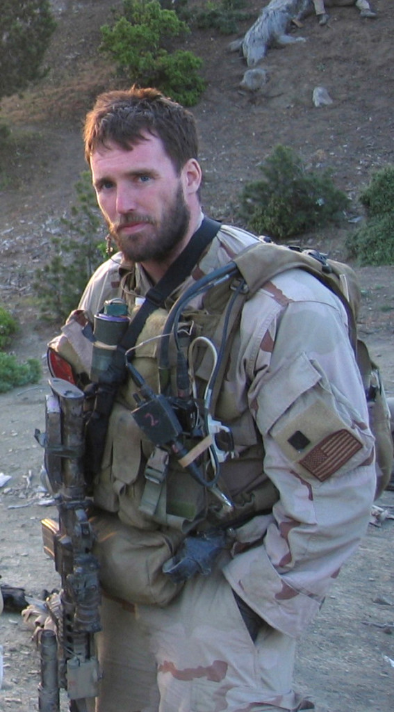 Navy file photo of SEAL Lt. Michael P. Murphy, from Patchogue,