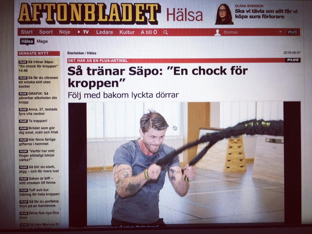 Omväxling förnöjer. Som att byta jobb - eller att bli Sveriges första skribent som får delta bakom i Säkerhetspolisens livvaktsenhets fysträning.