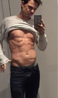 Peter Wixtröm tappade över 4 kilo och lyckades samtidigt med bedriften att öka sin muskelmassa på endast sju dagar.