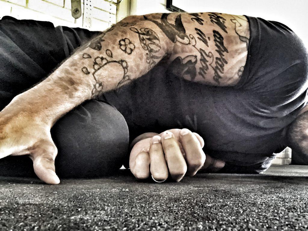 """The Filthy 50 is a big challenge because you have to literally be good at everything. It's a full-body workout that includes cardio""...mmm, det som såg jobbigt ut i löptext visade sig vara ännu värre i verkligheten."