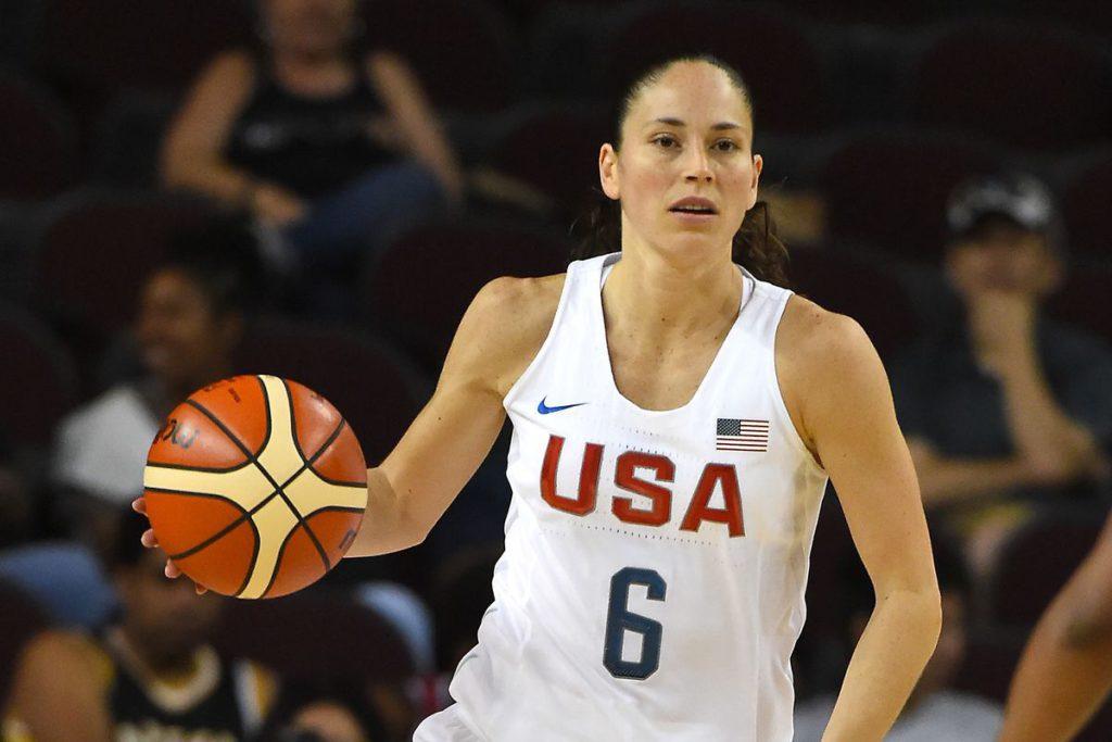 Sue Bird, en av världens främsta - tillika mest disciplinerade - basketspelare. Bild lånad av: swishappeal.com