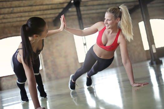 Skratt + träning = livskvalité