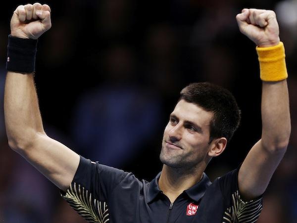 Djokovic tog 40e raka segern