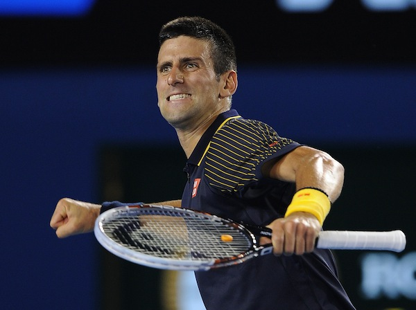 Djokovic kylig i hettan