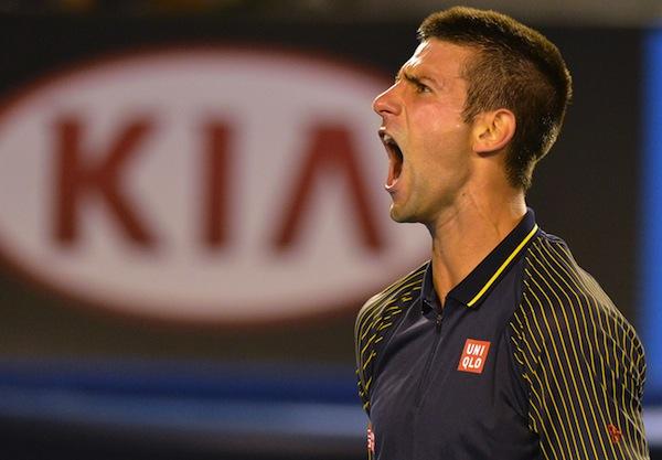Djokovics segersvit allt langre