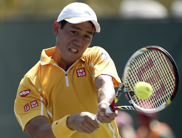 Kei Nishikori. FOTO: AP
