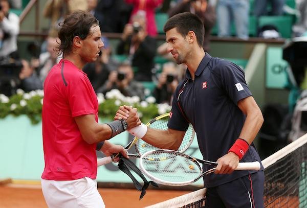 Rafael Nadal möts för 34:e gången i karriären i söndagens Monte Carlo Masters-final. FOTO: BILDBYRÅN