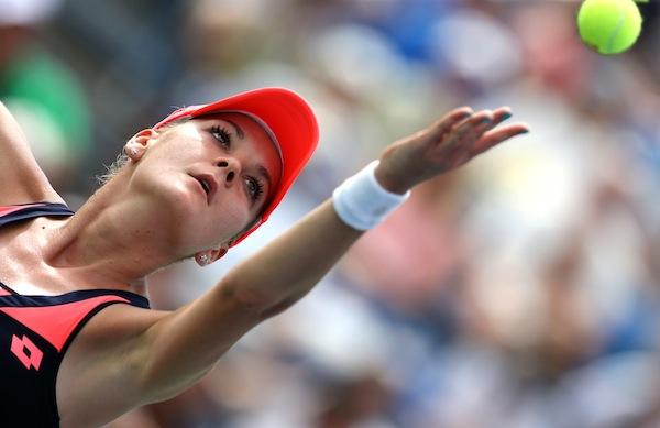 Agnieszka Radwanska bärgade sin tredje titel för säsongen i Seoul. FOTO: BILDBYRÅN