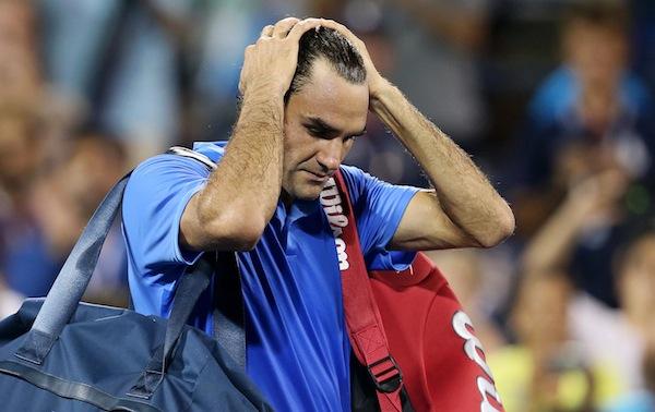 Roger Federer lyckades inte vända på den kapsejsande skutan i New York. FOTO: BILDBYRÅN