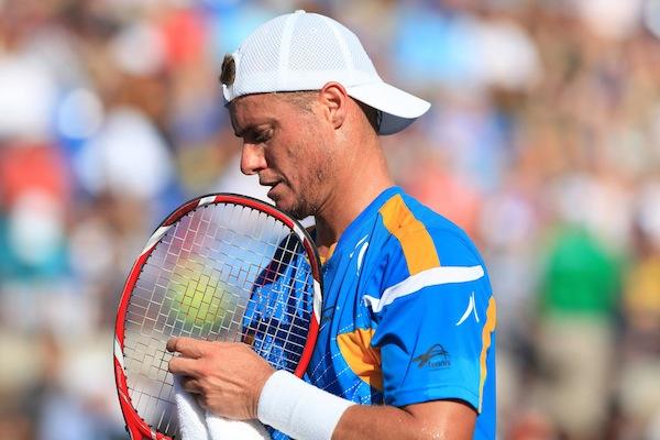 Lleyton Hewitt sumpade sina chanser att nå sin första Grand Slam-kvartsfinal sedan 2009. FOTO: BILDBYRÅN