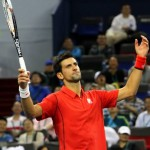 Novak Djokovic var frustrerad. FOTO: BILDBYRÅN