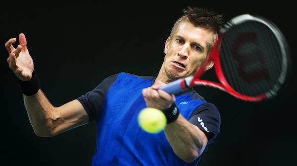 Tennis, Stockholm Open, dag 3