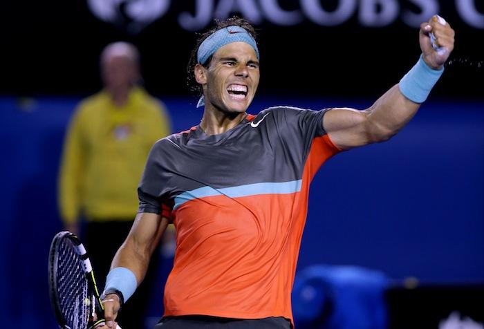 Rafael Nadal är klar för final i Australiska öppna. FOTO: AP
