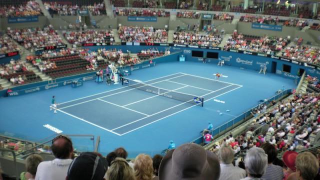 Roddick gav omojlige federer en tuff match