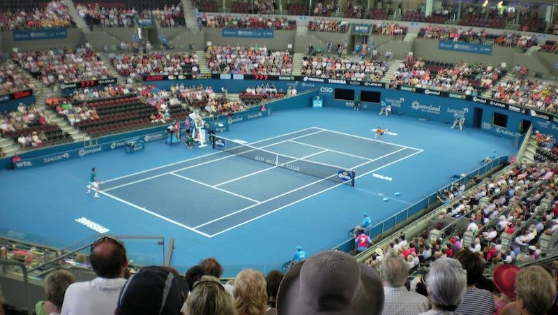 Pat Rafter Arena i Brisbane.
