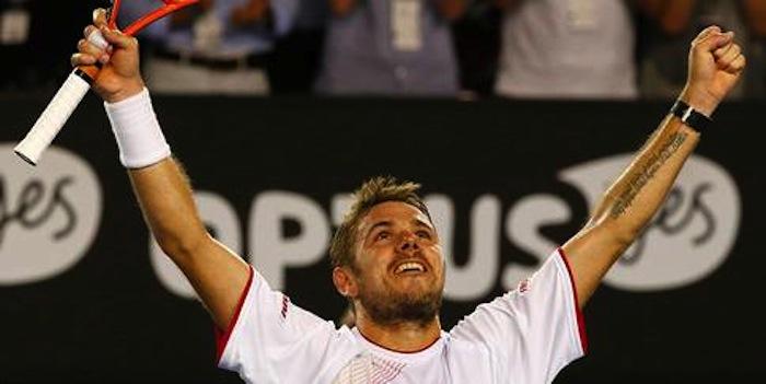 Stanislas Wawrinka vann första Grand Slam-titeln i karriären.