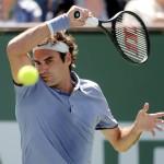 Tennis: BNP Paribas Open-Federer v Dolgopolov
