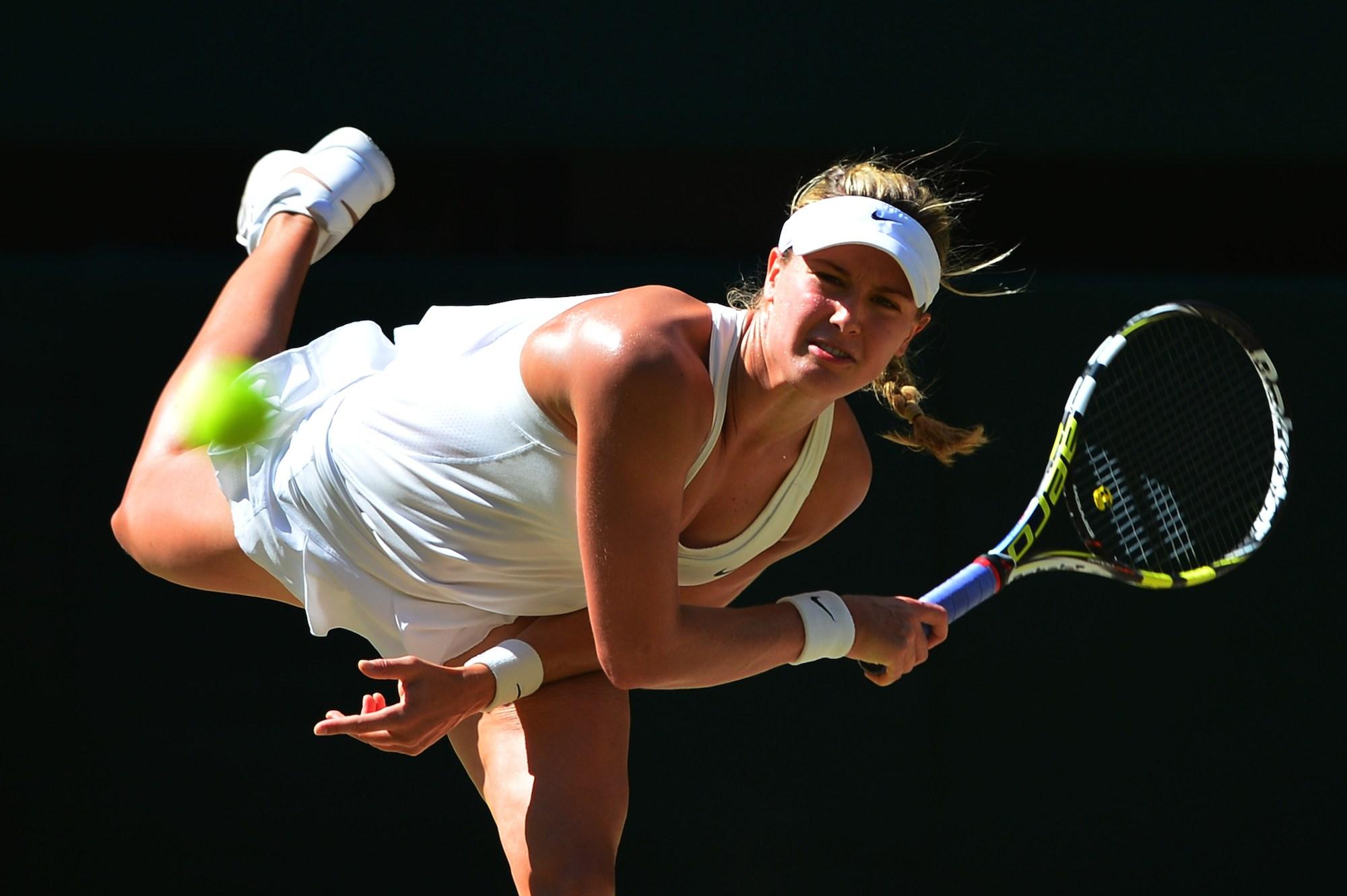 Eugenie Bouchard är klar för sin första Grand Slam-final i karriären.