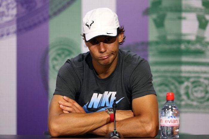 Rafael Nadal efter nederlaget mot Wimbledons stora sensation – 19-årige Nick Kyrgios.