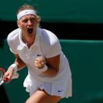 Kvitová har siktet inställt på seger.