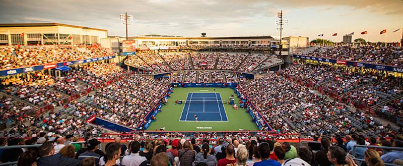 Så här kan det se ut i Canada Masters/Canadian Open/Rogers Cup (kärt barn har många namn). FOTO: ATP