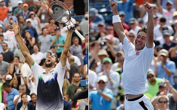Marin Cilic möter Kei Nishikori i en av 2000-talets mest oväntade Grand Slam-finaler.