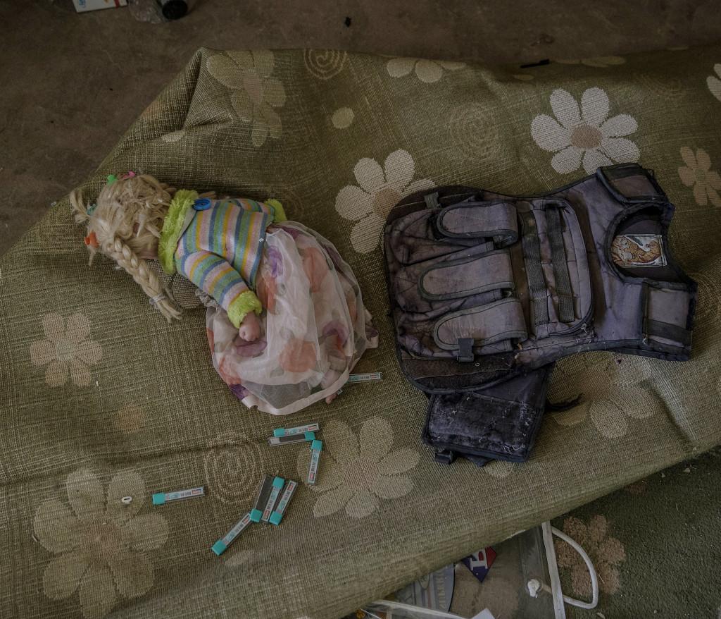 foto : magnus wennman : irak / kurdistan. irakiska och kurdiska trupper har inlett operationen att Œterta iraks nŠst stšrsta stad mosul frŒn is/daesh.  bilderna visar hur is bott och vad de lŠmnat efter sig nŠr de tvingats fly eller blivit dšdade.