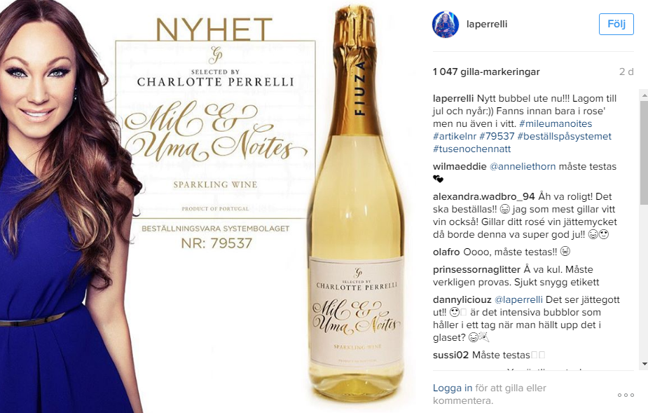 charlotte perrelli vin