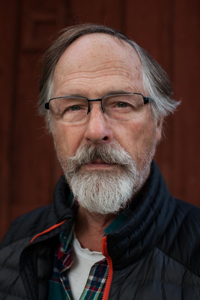 26/10-2016 Steve Kinnaman (Joel Kinnamans pappa) vid sitt hem i Stockholm.   Foto: Åke Ericson.