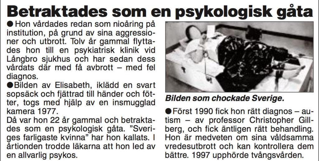 Faksimil från Aftonbladet.