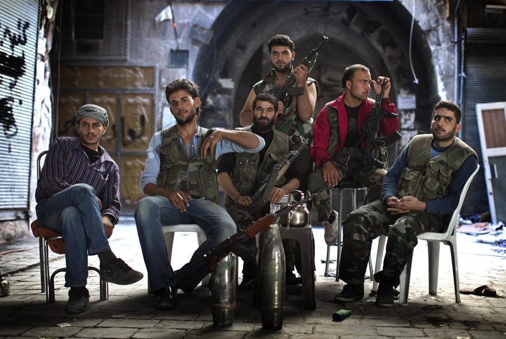 inbördeskriget i syrien. fsa - free syrian army