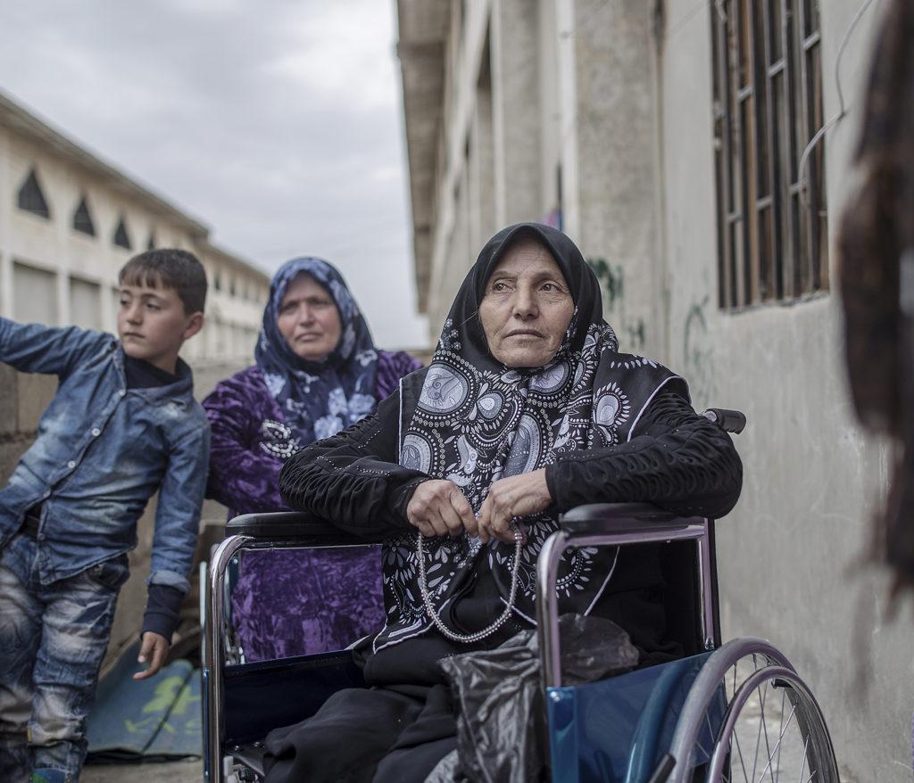 foto : magnus wennman : aftonbladet i syrien.  jibreen