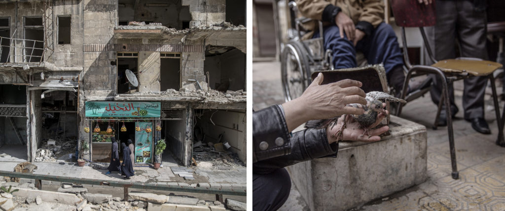 foto : magnus wennman : aftonbladet i syrien.  vardagsliv i al-shaar i östra aleppo