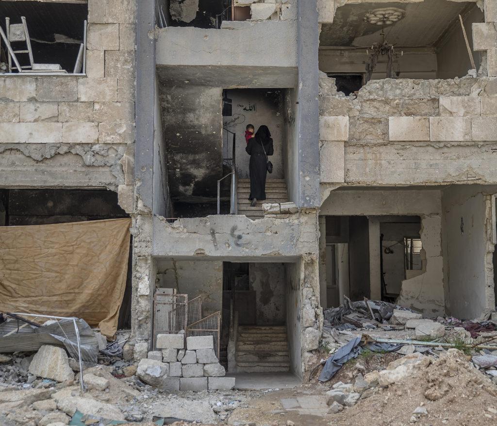 foto : magnus wennman : aftonbladet i syrien.  omrŒdet hanano i utkanten av aleppo