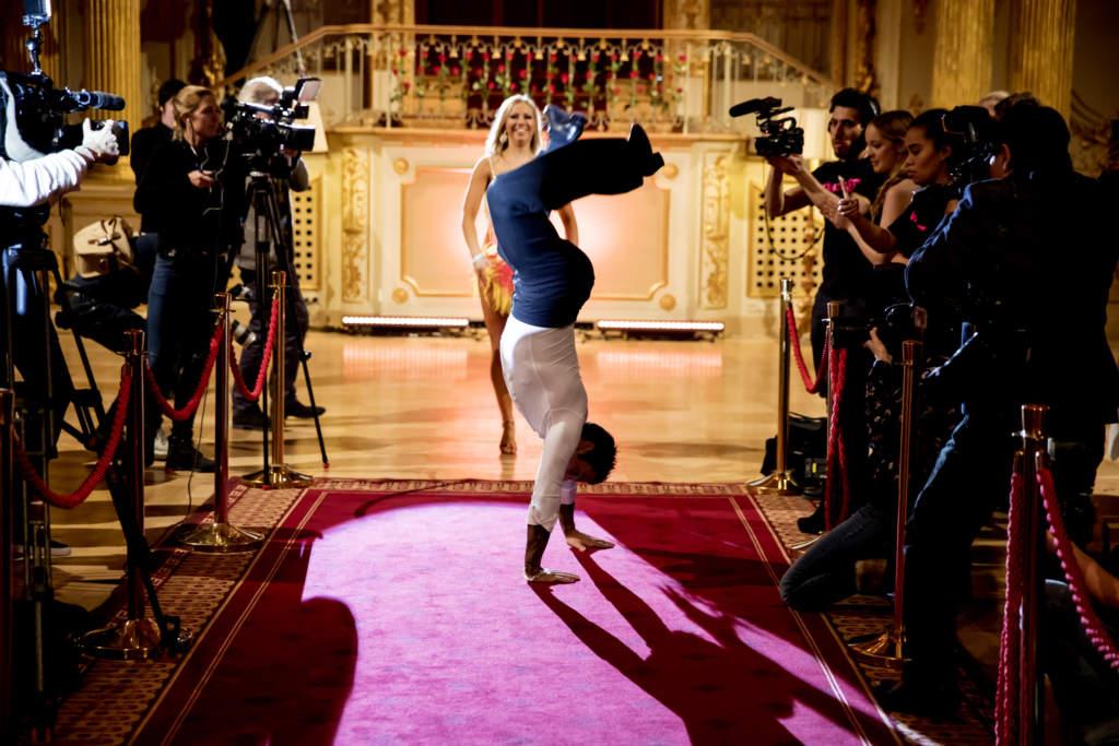 let's dance. samir badran, bloggare sverige, med sigrid bernson, dansare,