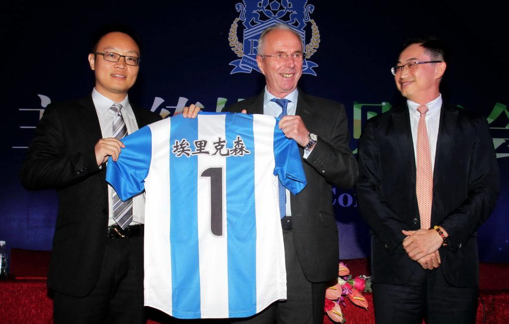 Hans karriär i Kina började med ett jobb i Guangzho 2013...