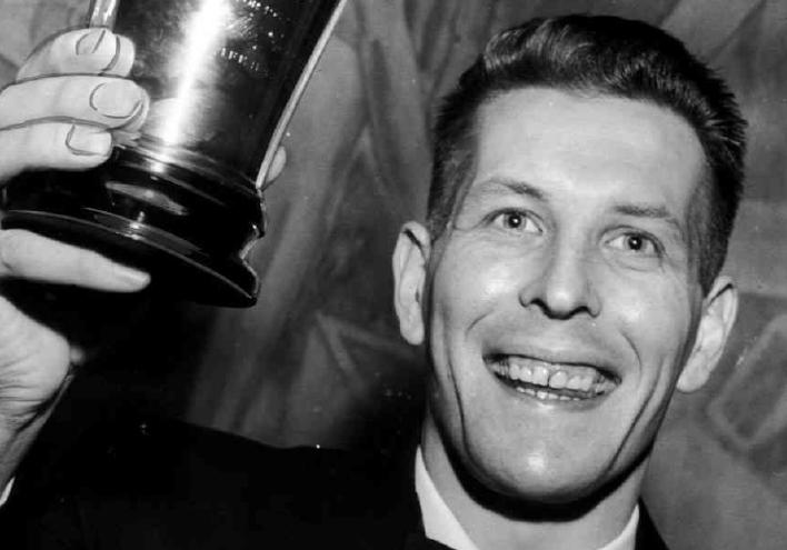 "1957: ÅKE ""BAJDOFF"" JOHANSSON, IFK NORRKÖPING"