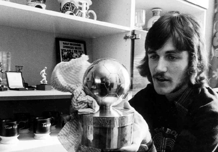 1974: RALF EDSTRÖM, PSV EINDHOVEN